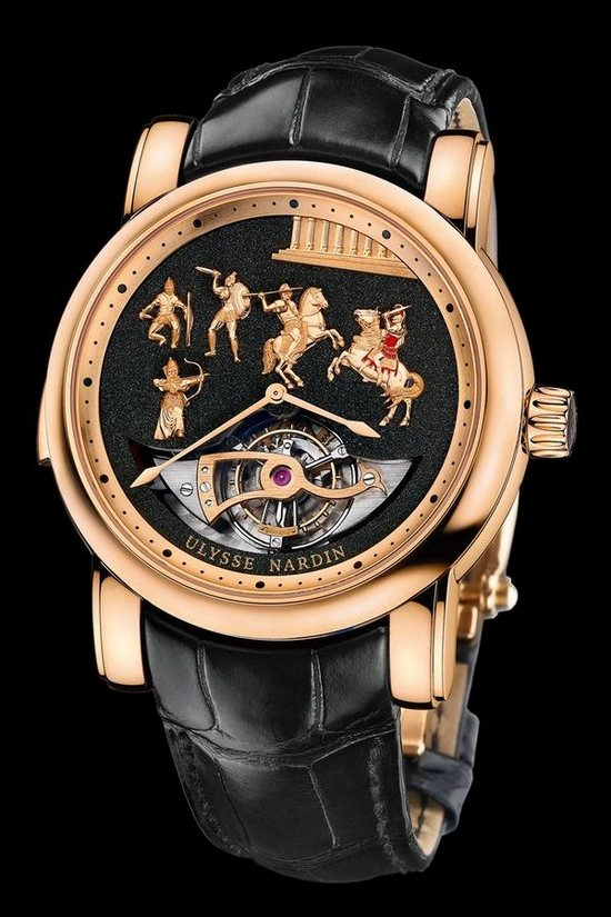 Ulysse Nardin Alexander the Great rose gold