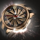 Perrelet Turbine XL Gold Watch