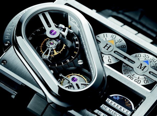 Harry Winston Histoire de Tourbillon 3 Watch Detail