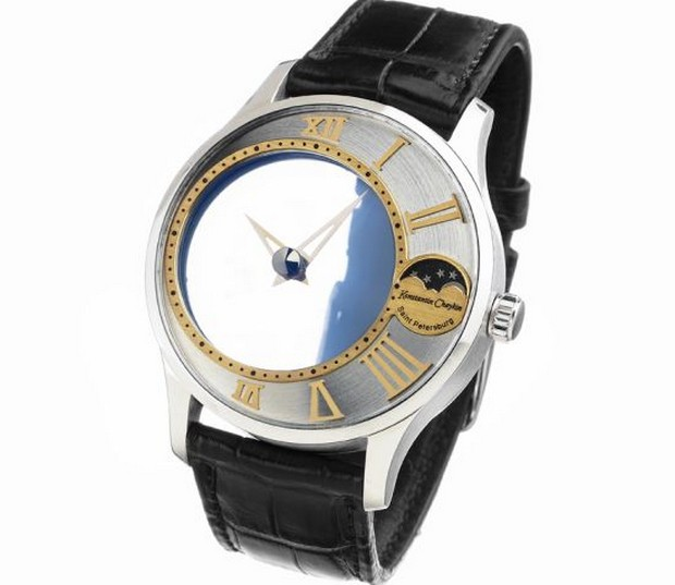 Konstantin Chaykin White Gold Mystery Watch