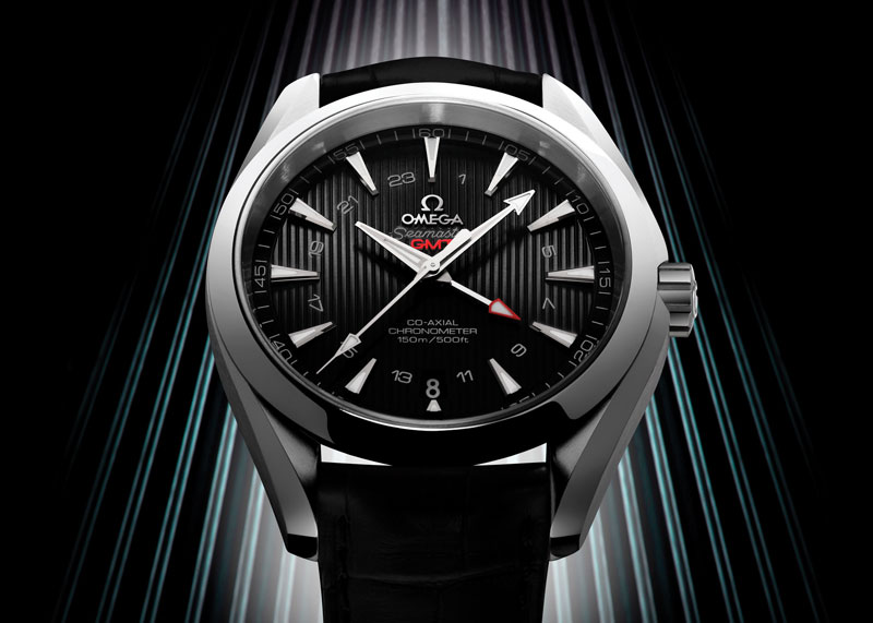 Omega Seamaster Aqua Terra GMT Watch