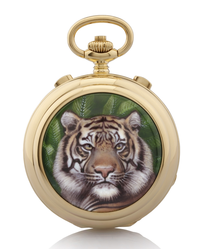 Robert & Fils 1630 Maurice Robert Grande Complication Tigre Majestueux Pocket Watch