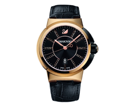 Swarovski Piazza Grande Quartz Rose Gold Watch