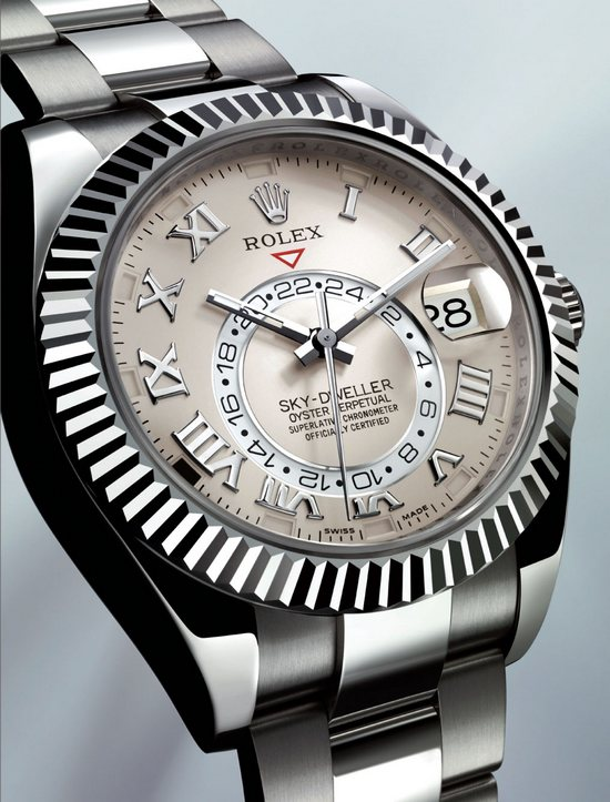Rolex Sky Dweller Annual Calendar White Gold Watch