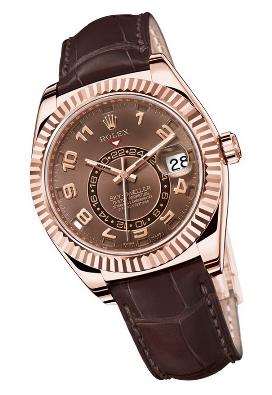 Rolex Sky Dweller Annual Calendar Everose Gold Watch