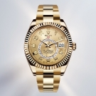 Rolex Sky Dweller Annual Calendar Yellow Gold Watch
