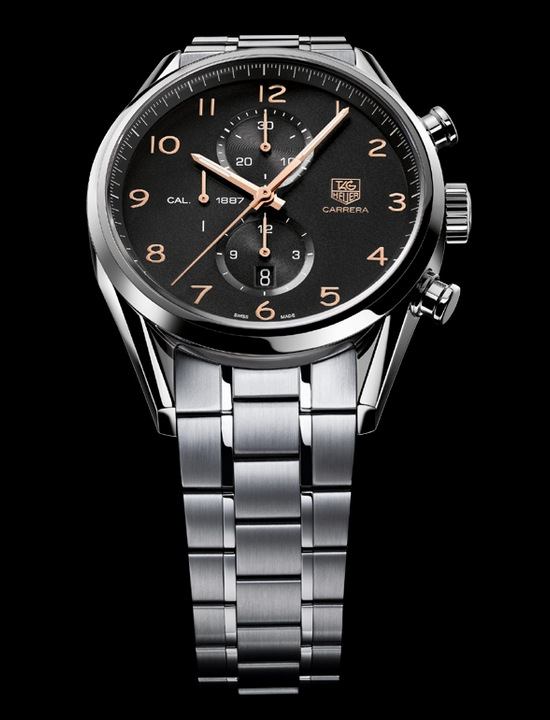 Baselworld 2012 – Tag Heuer Extended its Carrera Calibre 1887 ... 219c276613