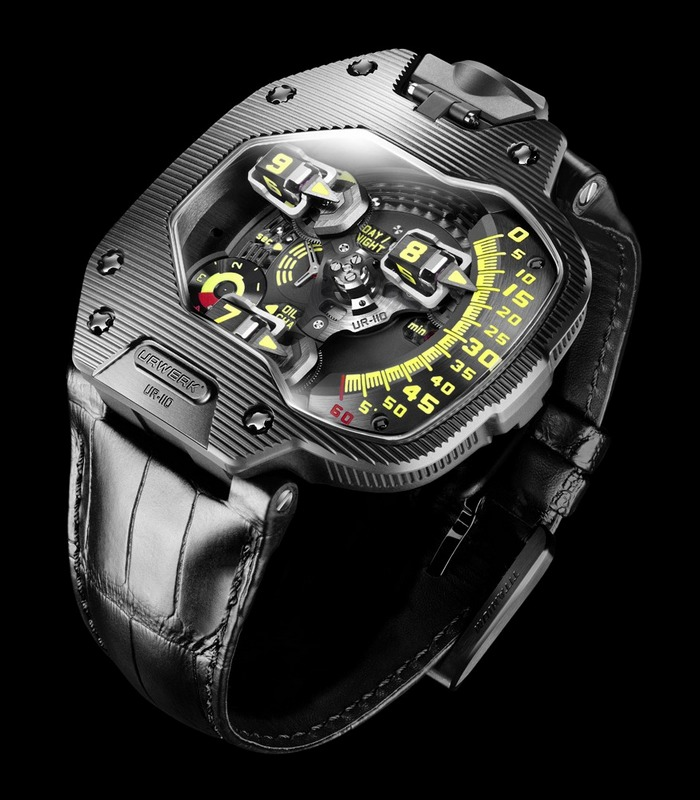 Baselworld 2012 – Urwerk Supplies New UR-110 Models with ...
