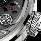 Breva Génie 01 White Gold Watch Detail