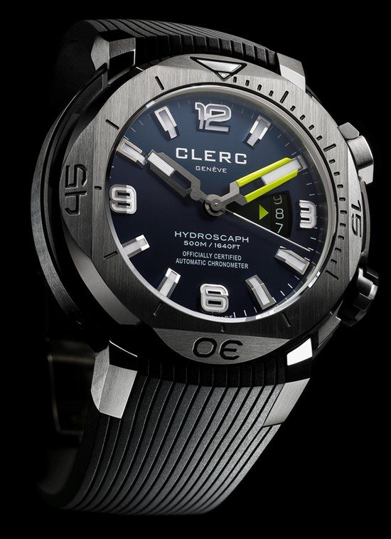 Clerc Hydroscaphe H1 Chronometer Diving Watch