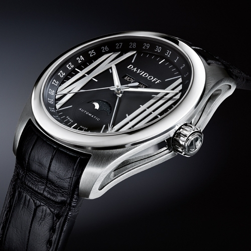 Davidoff Velocity Gent Automatic Moonphase Watch