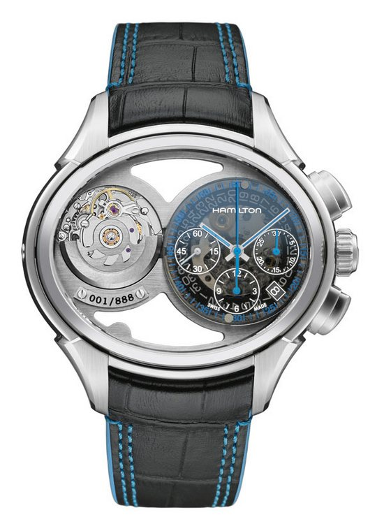 Hamilton Jazzmaster Face2face Watch One Face