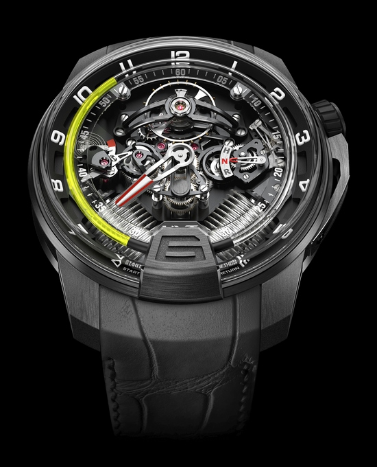 HYT H2 Hydromechnical Watch Front