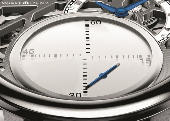 Maurice Lacroix Masterpiece Mystrious Seconds Watch Dial Detail