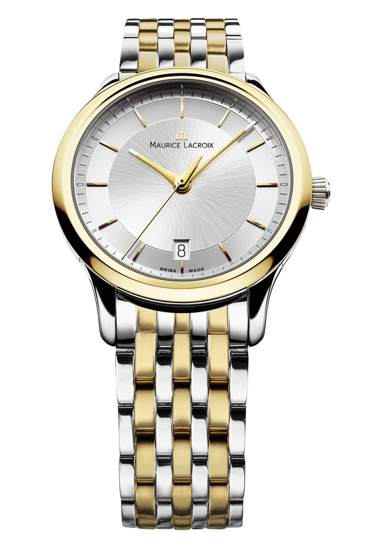 Maurice Lacroix Les Classiques Date Watch Gold Plated