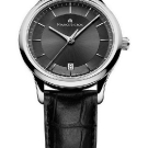 Maurice Lacroix Les Classiques Date Watch with Black Leather Strap