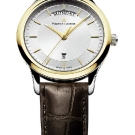 Maurice Lacroix Les Classiques Day/Date Watch with Brown Leather Strap