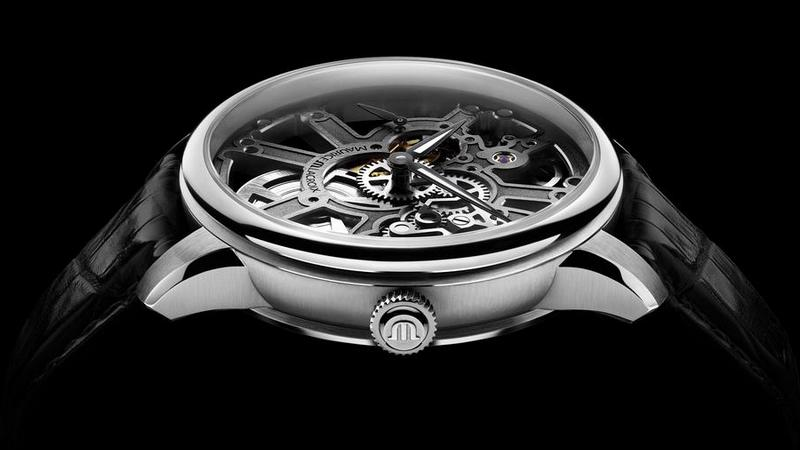 Maurice Lacroix Masterpiece Squelette Watch Side