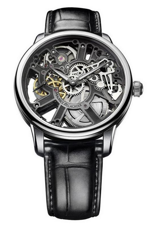 Maurice Lacroix Masterpiece Squelette Watch Tantalum Bridges