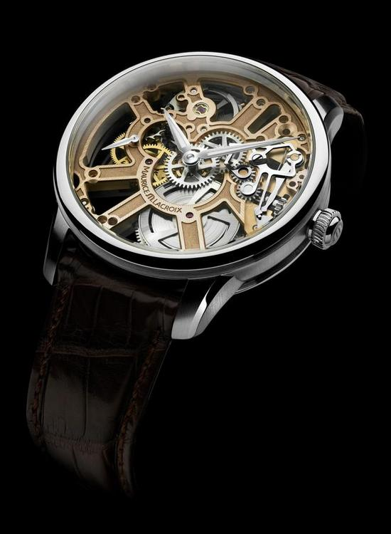 Maurice Lacroix Masterpiece Squelette Watch