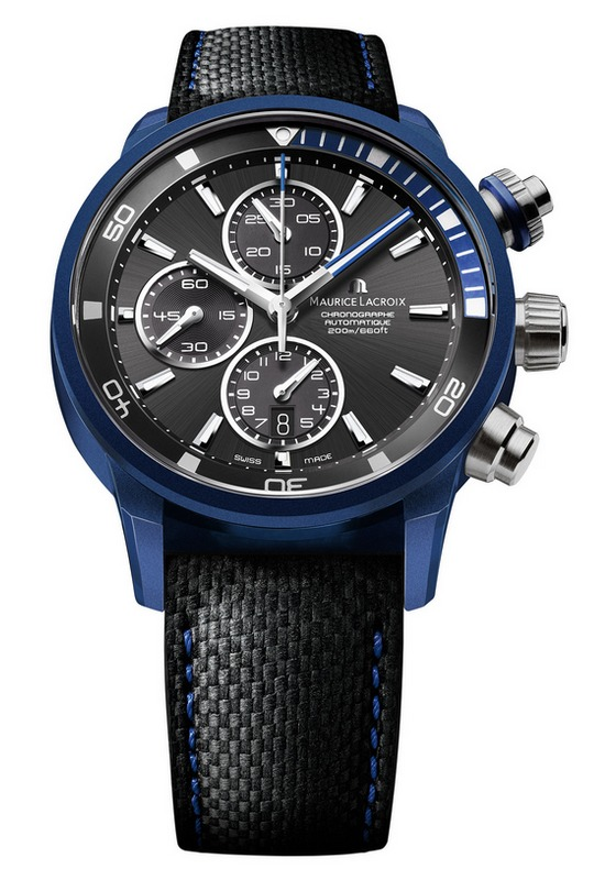 Maurice Lacroix Pontos S Extreme Blue Case Watch