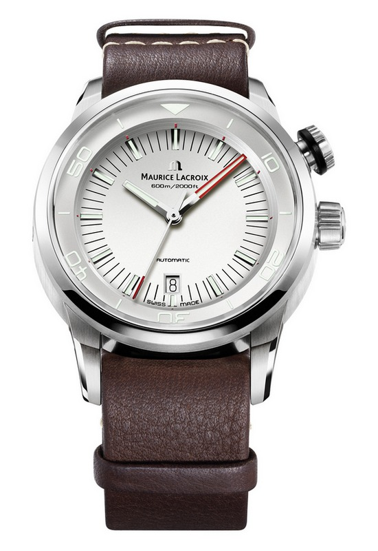 Maurice Lacroix Pontos S Diver Vintage Watch White Dial