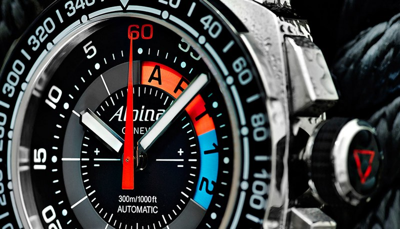 Alpina Sailing Yachttimer Countdown Watch Dial