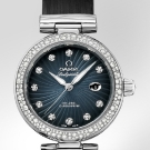 Omega De Ville Ladymatic Grey Diamonds Watch Baselworld 2013