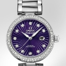 Omega De Ville Ladymatic Purple Diamonds Watch Baselworld 2013