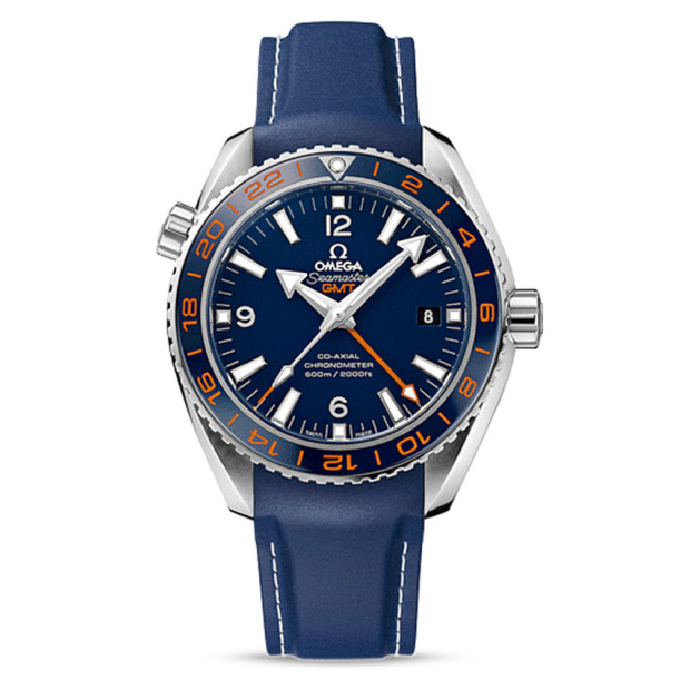 Omega Seamaster Planet Ocean 600m GoodPlanet GMT Watch Rubber