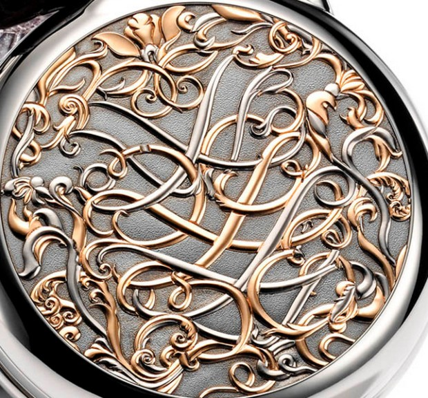 Hermes Arceau Pocket Volutes Watch Cover