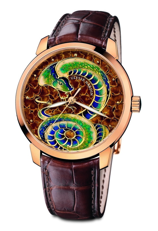 Ulysse Nardin Classico Serpent Watch Front