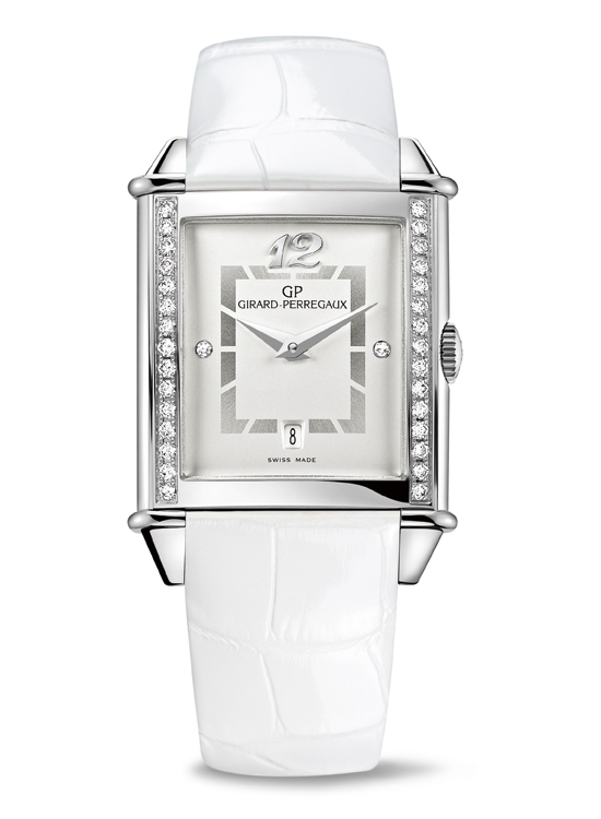 Girard-Perregaux Vintage 1945 Lady Watch White