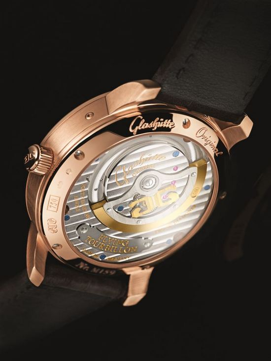 Glashütte Original PanoLunar Tourbillon Watch Caseback