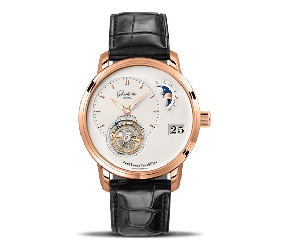 Glashütte Original PanoLunar Tourbillon Watch Front