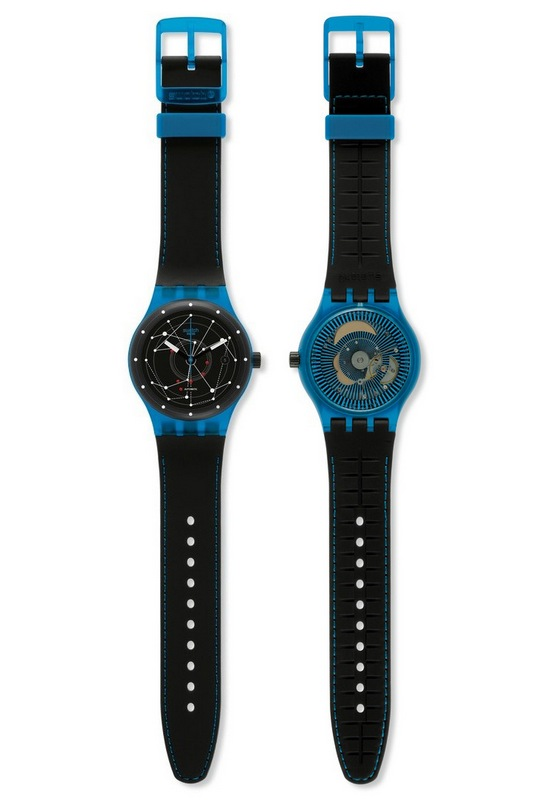 Swatch Sistem51 Watch Frontv Back