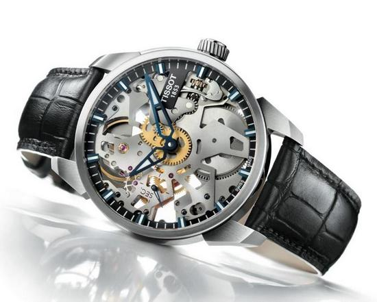 Tissot T-Complication Squelette Watch