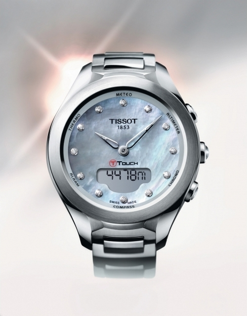 Tissot T-Touch Lady Solar Watch Front