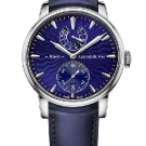 Arnold & Son Eight-Day Royal Navy Blue Dial Watch Front