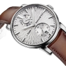 Arnold & Son Eight-Day Royal Navy Silver Dial Watch