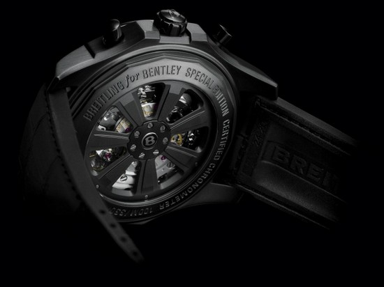 Breitling for Bentley B05 Unitime Midnight Carbon Watch Back