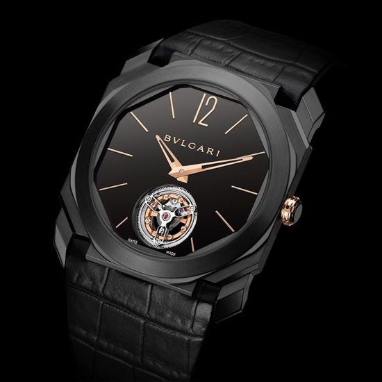 Bulgari Octo Ultranero Finissimo Tourbillon Watch