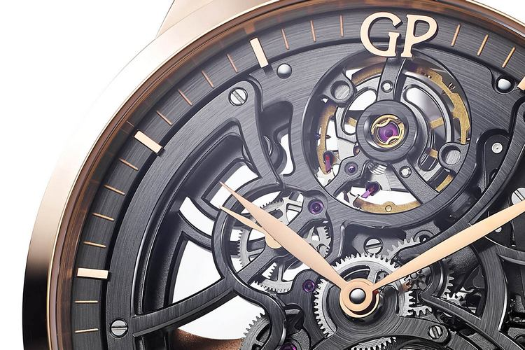 Girard-Perregaux 1966 Skeleton Watch Detail