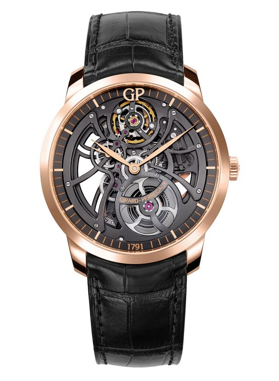 Girard-Perregaux 1966 Skeleton Watch Front