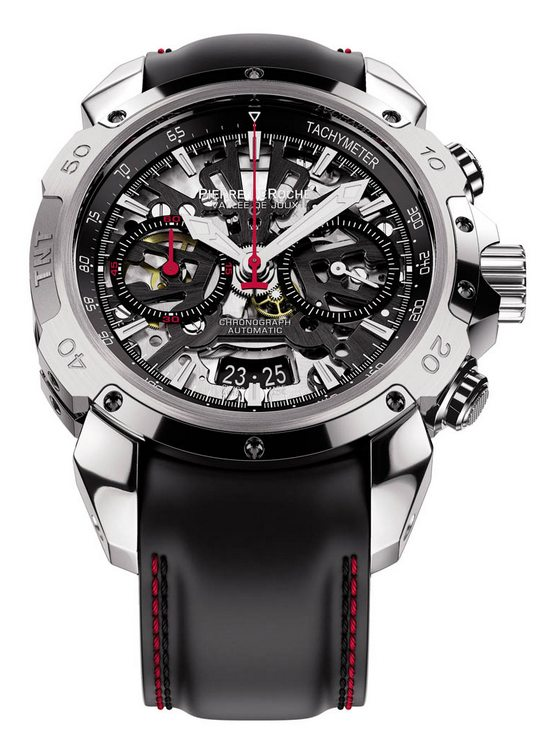 Pierre De Roche TNT Chrono 43 Watch Front