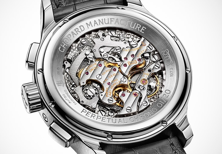 Chopard L.U.C Perpetual Calendar Chrono Watch - Case Back