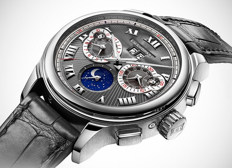 Chopard L.U.C Perpetual Calendar Chrono Watch Profile