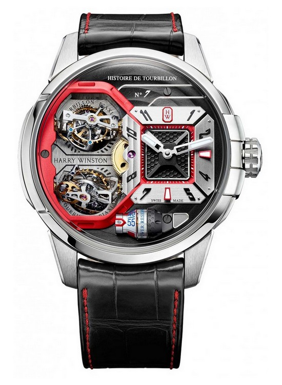 Harry Winston Histoire de Tourbillon 7 Watch Front