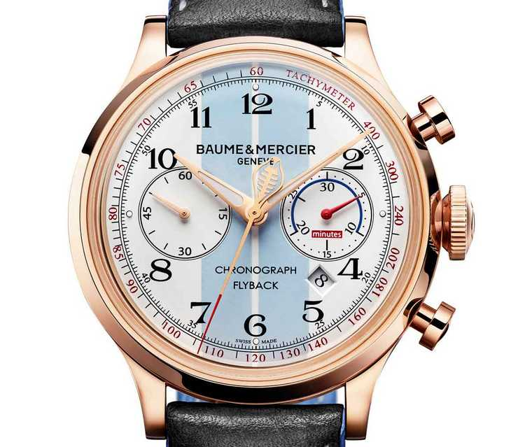 Baume & Mercier Capeland Shelby Cobra Watch for Antiquorum - Dial