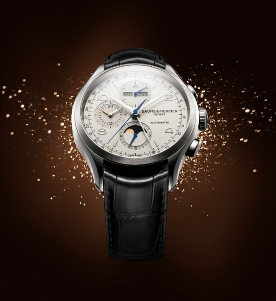 Baume et Mercier Clifton Chronograph Complete Calendar Watch